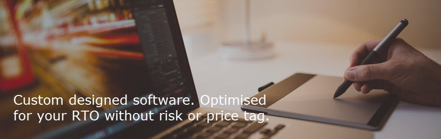 Low risk custom designed RTO software.